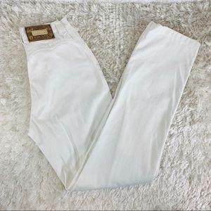 White Lawman High Waist Jeans Western Cut Sz 3